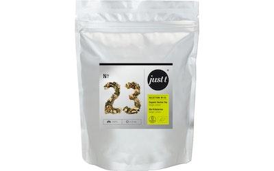 Just t Organic Herbal Tea Ginger Lemon 140g Luomu inkivääriä ja sitruunaruohoa sis yrttiuutejuoma