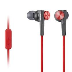 Sony MDR-XB50AP nappikuuloke punainen