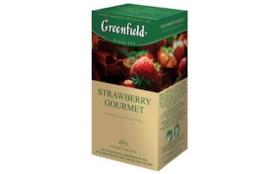 Greenfield tee 25ps Strawberry Gourmet