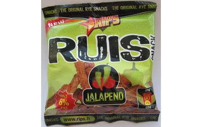RIPS Ruis Snack Jalapeno 50g