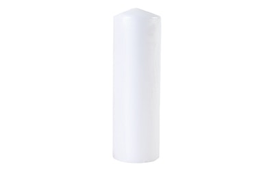 Hansa pöytäkynttilä 8x25cm valkoinen