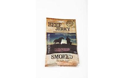 Beef Jerky Smoked - savustettu, maustettu ja kuivattu naudanliha 50g