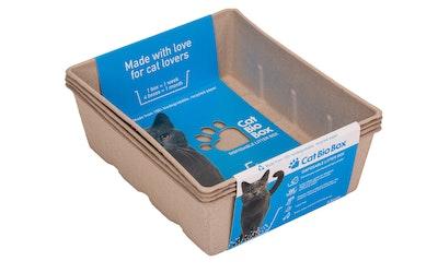 Cat bio box kissanhiekkalaatikko 4kpl koko L