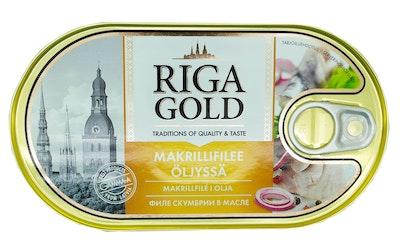 Old Riga makrillifilee 190/114g öljyssä