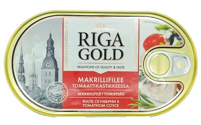 Old Riga makrillifilee 190/114g tomaattikastikkeessa