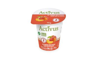 Activus puurokuppi 70g persikka