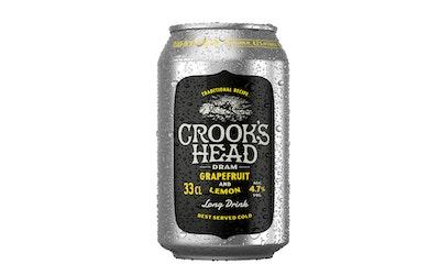 Crooks Head dram grapefruit-lemon 4,7% 0,33l