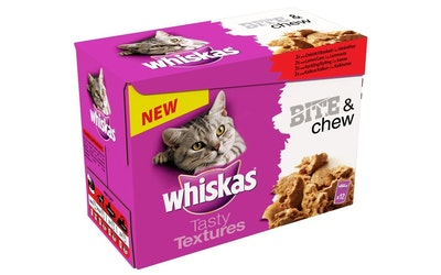 Whiskas Bite&Chew 12x85g lihalajitelma