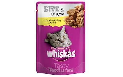 Whiskas Bite&Chew kissan annospussi 85g kana