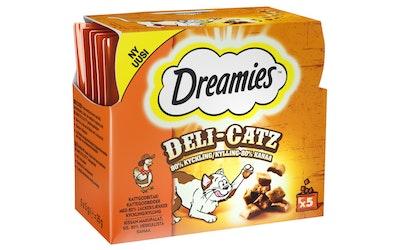 Dreamies deli catz 5x5g kana