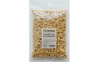 Arimex Paahdettuja suolapähkinöitä 500g