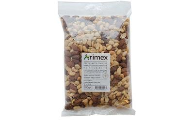 Arimex Paahdettuja ja suolattuja pähkinöitä 500g