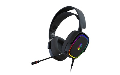 EXO Nomad RGB ultrakevyt pelikuuloke musta - kuva