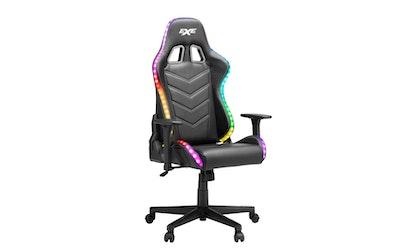 EXO Major RGB-valaistu pelituoli musta - kuva