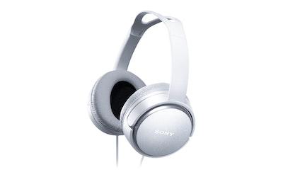 Sony MDR-XD150W sankakuuloke valkoinen - kuva