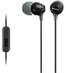 Sony MDR-EX15APB nappikuuloke musta
