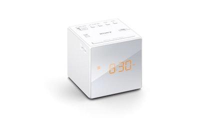 Sony ICF-C1W kelloradio valkoinen
