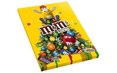 M&M'S Friends joulukalenteri 361g