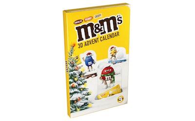 M&Ms 3D pop-up joulukalenteri 346 g - kuva