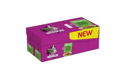 Whiskas 48-pack (48x85g) Simply-Grillatt