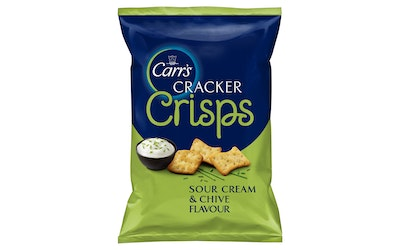 Carr's 150g Cracker Crisp Sour and chive