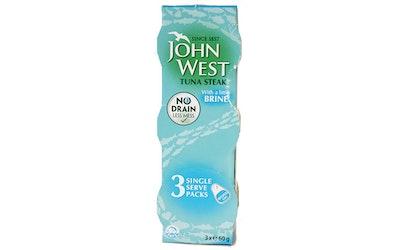 John West Tonnikalafilepala vedessä 3x60g