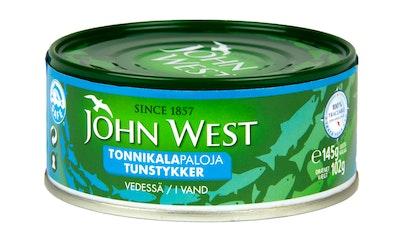 John West Tonnikalapalat vedessä 145 g/102 g