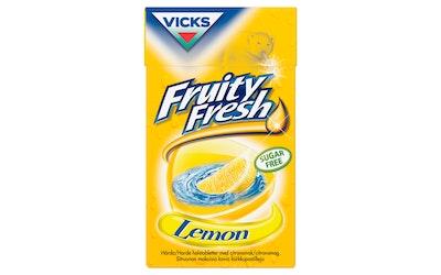 Vicks Fresh Lemon sokeriton kurkkupastilli 40g rasia