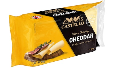 Castello artfully authentic cheddar juusto 500g