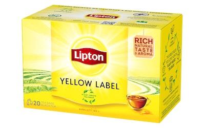 Lipton Yellow Label Tea 20 teepussia