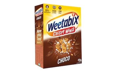 Weetabix Minis Choco suklaavehnämurokkeet 450 g