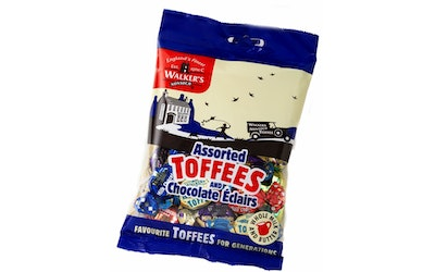 Walker's Assorted Toffees and Chocolate 150g