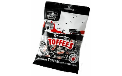 Walker's Liquorice Toffees 150g