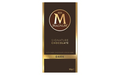Magnum tumma suklaalevy 90g