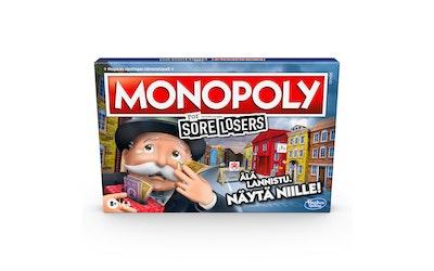 Monopoly Sore Losers lautapeli - kuva