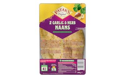 Patak's Naanleipä 240g Garlic-Coriander