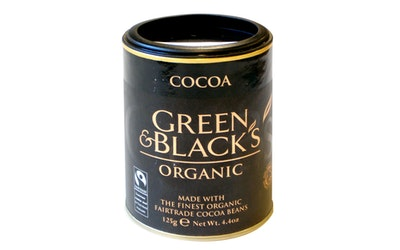 Green & Black´s luomu 100% kaakaojauhe 125g reilu kauppa