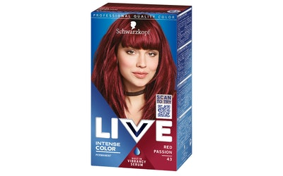 Live Color XXL 43 hiusväri Red Passion