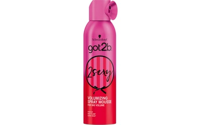 got2b 250ml muotovaahto 2 Sexy Big Volume