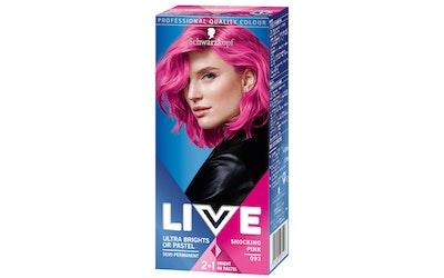 Schwarzkopf Live Color XXL Ultra Brights 93 Pink hiusväri - kuva