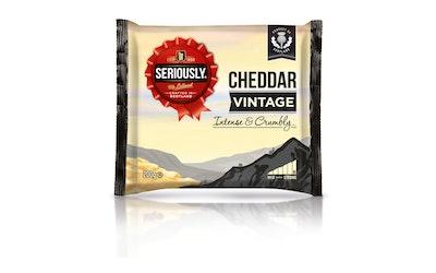 Seriously Vintage cheddar juusto 200g