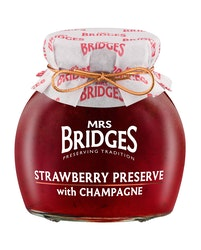 Mrs Bridges Mansikka-samppanjahillo 340 g
