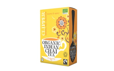 Clipper Indian Chai tee 20pussia/60g luomu reilu kauppa