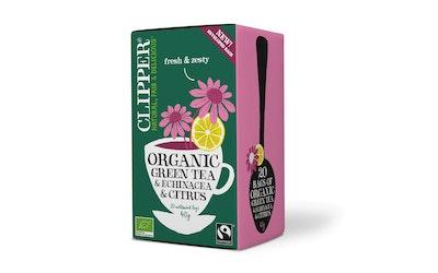 Clipper vihreä tee 20ps echinaceae luomu