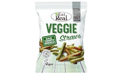Eat Real Veggie Straws lehtikaali pinaatti tomaatti113g