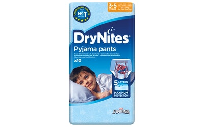 DryNites yövaippa poika 3-5v 10kpl