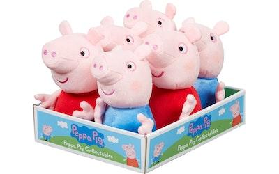 Peppa Pig Pehmo 15 cm lajitelma