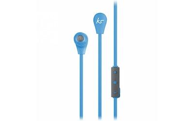 Kitsound Bounce Bluetooth-nappikuuloke sininen