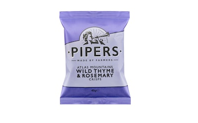 Pipers Crisp Atlas Mountains Wild Thyme & Rosemary 40 g