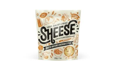 Sheese maidoton cheddar -tyyppinen juustoraaste 200g
